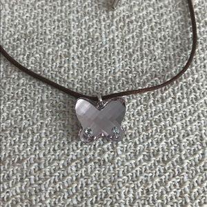 Swarovski light purple crystal pendant necklace